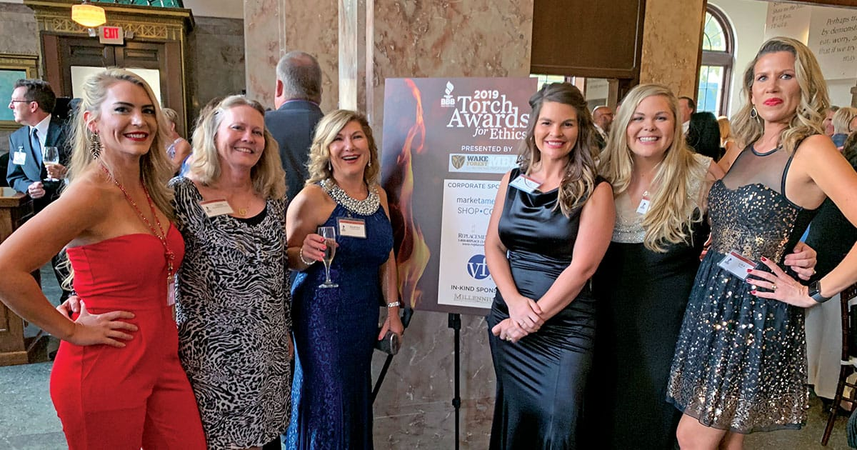 Restoration Med Spa at the Torch Awards