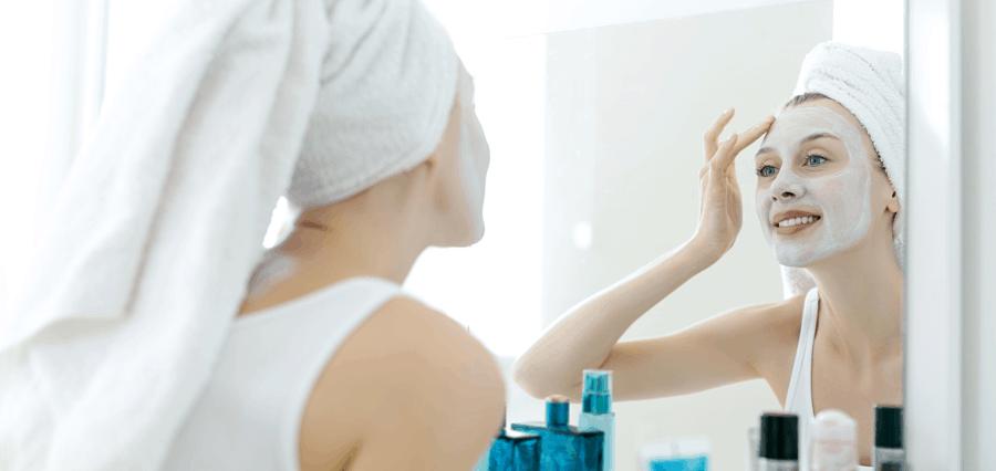 Using skin creams